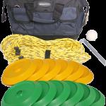 Disc Bowls Set - Green & Yellow