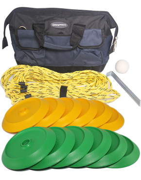 Disc Bowls Set - Green & Yellow